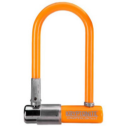 KRYPTONITE U-LOCK KRYPTOLOK 2 MINI-7 W/FRAME BRACKET ORANGE