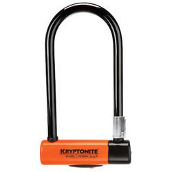 KRYPTONITE U-LOCK EVOLUTION SERIES 4 STD W/FRAME BRACKET