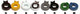 SHIMANO NON-TURN WASHER 7L LEFT/GREY