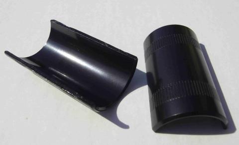 HANDLEBAR ADAPTER BLACK 22.2 > 25.4 MM