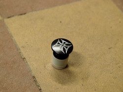 BAR END ATOMIC IRON CROSS