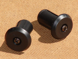 HANDLEBAR END PLUG, ADJUSTABLE, PAIR