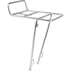 FRONT RACK ELECTRA SILVER