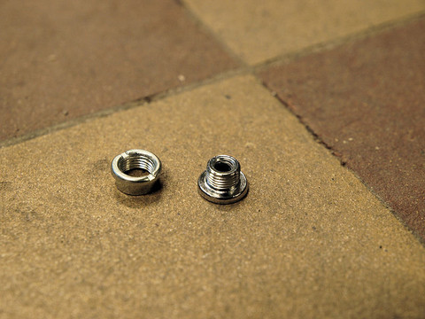CHAINRING BOLTS 5MM / 5MM SINGLE SPEED, 1 PAIR