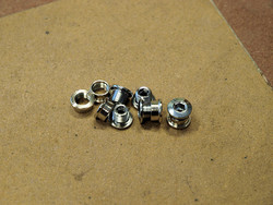 CHAINRING BOLTS 6.5MM / 5MM SINGLE SPEED, 5 PAIRS