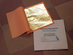 IMITATION ITALIAN GOLD LEAF SHADE 1 LOOSE LEAF
