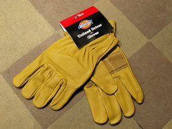 DICKIES DRIVER GLOVES REAL LEATHER SIZE XL