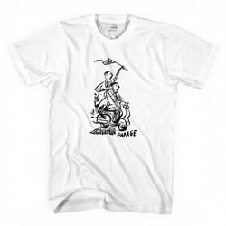 CINELLI POPE GARAGE T-SHIRT WHITE L
