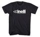CINELLI WE BIKE HARDER T-SHIRT BLACK L