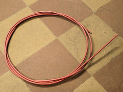 OUTER CABLE HOUSING RED METALLIC 2.5M X 5MM
