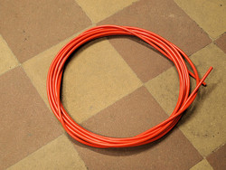 OUTER CABLE HOUSING ORANGE 2.5M X 5MM