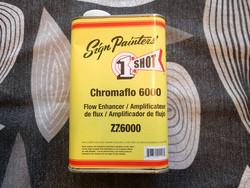 1SHOT CHROMAFLO 6000 FLOW ENHANCER 1 QUART