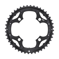 CHAINRING 44T 104BCD 4 BOLTS BLACK 9 SPEED SHIMANO FC-M660