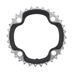 CHAINRING 32T 104BCD 4 BOLTS BLACK 9 SPEED SHIMANO FC-M660