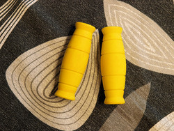 RUBBER GRIPS 120MM YELLOW