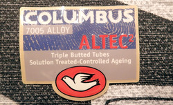 COLUMBUS ALTEC DECAL NOS