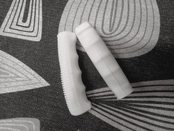 RUBBER GRIPS 125 MM WHITE