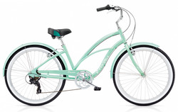 ELECTRA CRUISER LUX 7D LADIES' SEA GREEN