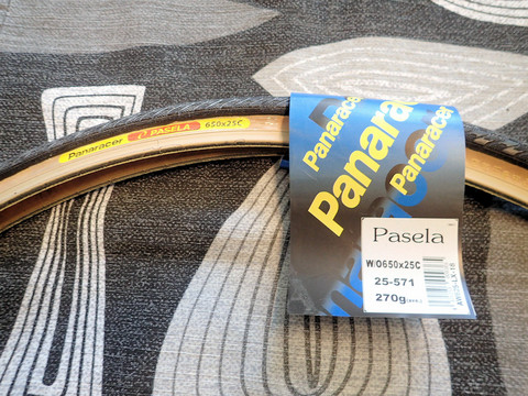 PANARACER PASELA 650C X 25 MM TANWALL 25-571