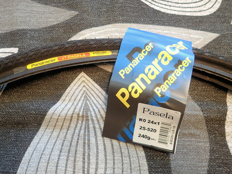 PANARACER PASELA 650C X 28 MM BLACK 28-571