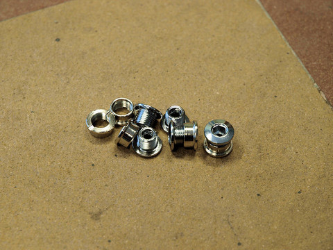 CHAINRING BOLTS 8.5MM / 7MM FOR 2 CHAINRINGS, 1 PAIR