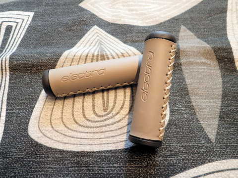 ELECTRA GRIPS, GREY HAND-STITCHED LONG/SHORT
