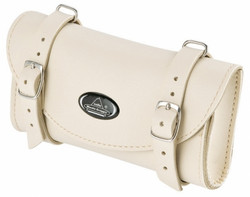 SADDLE BAG, WHITE