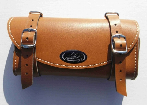 SADDLE BAG, LIGHT BROWN