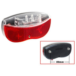 REAR RACK LIGHT CAVO, 2 LED, BATTERY