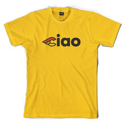 CINELLI CIAO T-SHIRT YELLOW M