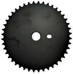 CHAINRING PURE BLACK 1/2X1/8