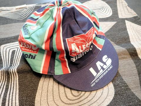 TEAM ALESSIO BIANCHI CAP