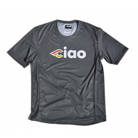 CINELLI CIAO TECHNICAL T-SHIRT CHARCOAL L
