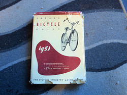 JAPAN'S BICYCLE GUIDE 1951