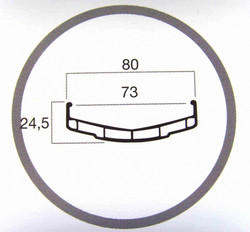 DOUBLE WALL RIM 24