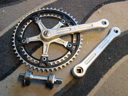 GIPIEMME SPECIAL CRANKSET + BB 175 MM USED