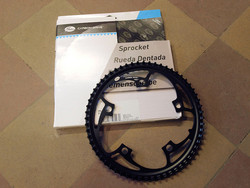 GATES CARBON DRIVE CDX CENTER TRACK CHAIN RING 60T, 130 BCD, 5 BOLT