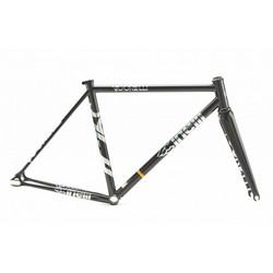CINELLI VIGORELLI STEEL BLACK KNIGHT FRAMESET 2020 L/56