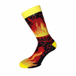 ANA BENAROYA 'FIRE' SOCKS XL