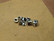 CHAINRING BOLTS 6.5MM / 5MM SINGLE SPEED, 5 PAIRS STAINLESS