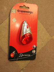 SPANNINGA NR9 XB LED REAR LIGHT DYNAMO