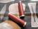 LEATHER DONUT LOCKING GRIPS, DARK BROWN 130/130 MM