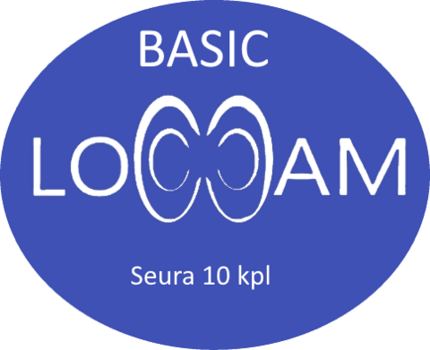 LoCCaM Basic 12 kk seuralisenssi 10 kpl