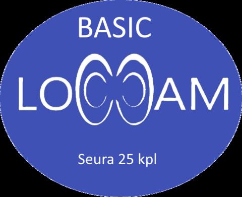 LoCCaM Basic 12 kk seuralisenssi 25 kpl