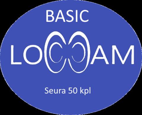 LoCCaM Basic 12 kk seuralisenssi 50 kpl