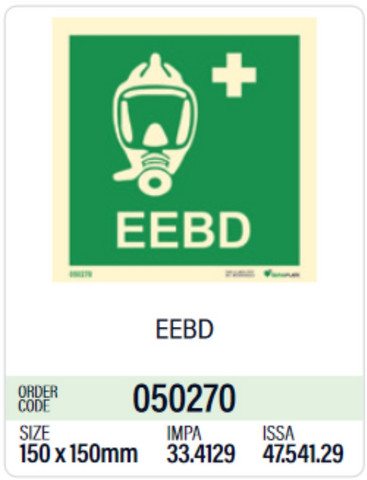 Emergency escape breathing devices EEBD