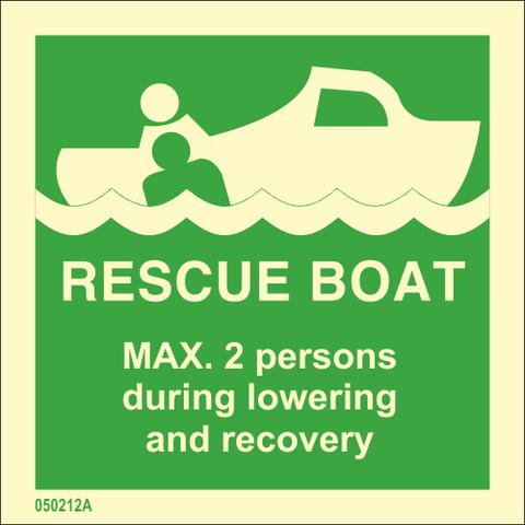 Valmiusvene MAX. 2 henkilöä