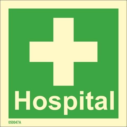 Sairaala tekstillä