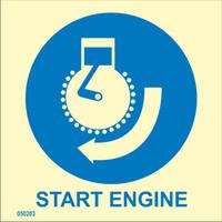 Moottorin käynnistys