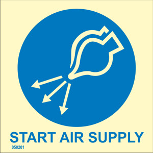 Start air supply
